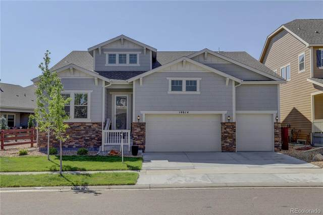 14614 Haley Avenue, Parker, CO 80134 (MLS #7509739) :: Neuhaus Real Estate, Inc.