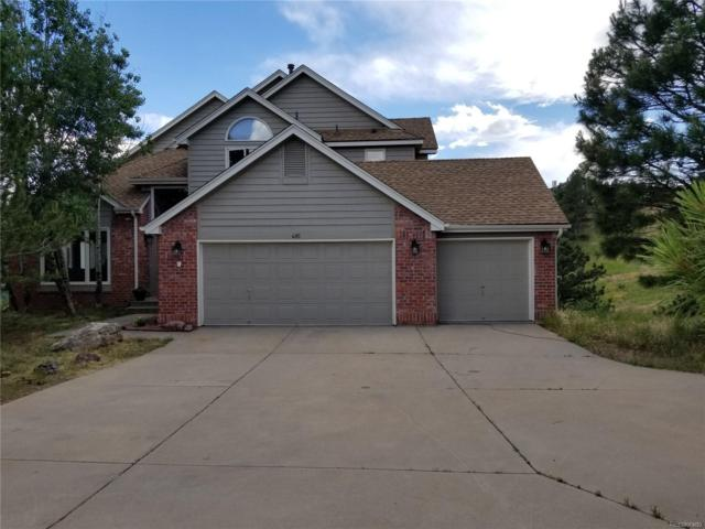 495 Mount Vernon Circle, Golden, CO 80401 (#1500914) :: The City and Mountains Group