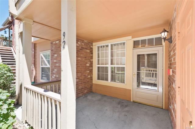 14256 E Whitaker Place #92, Aurora, CO 80015 (#1502922) :: My Home Team