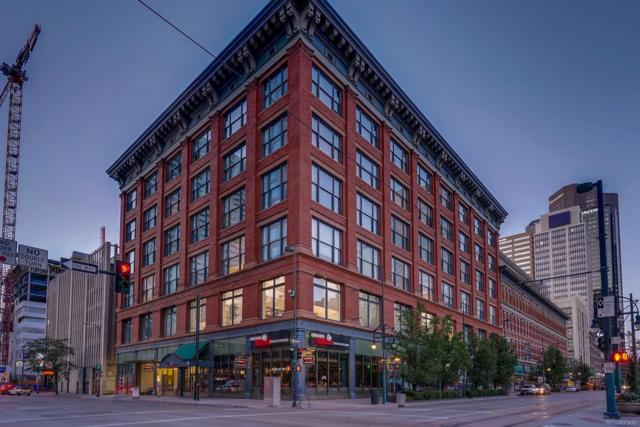 1555 California Street #606, Denver, CO 80202 (#1507594) :: The HomeSmiths Team - Keller Williams