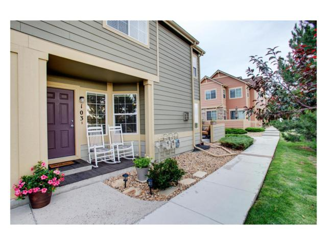 2515 Cutters Circle #103, Castle Rock, CO 80108 (MLS #1508717) :: 8z Real Estate