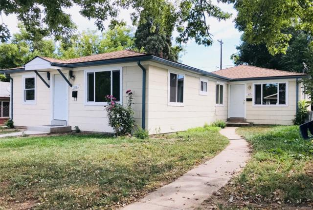 212 S Irving Street, Denver, CO 80219 (#1509234) :: The Peak Properties Group