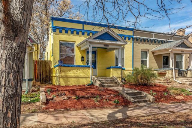 1157 N Downing Street, Denver, CO 80218 (#1511607) :: Wisdom Real Estate