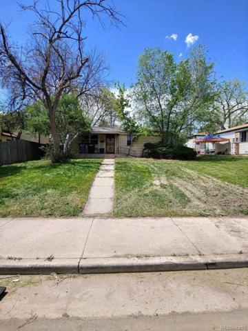 927 Perry Street, Denver, CO 80204 (#1516679) :: Real Estate Professionals