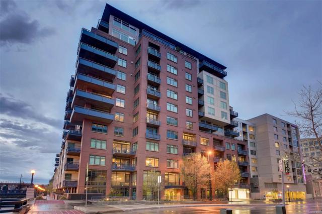 1401 Wewatta Street #1201, Denver, CO 80202 (#1518061) :: The DeGrood Team
