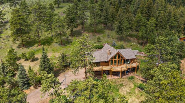 3901 Myers Gulch Road, Kittredge, CO 80457 (#1518530) :: Berkshire Hathaway Elevated Living Real Estate