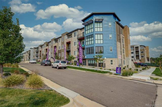 460 E Fremont Place #405, Littleton, CO 80122 (MLS #1519377) :: 8z Real Estate
