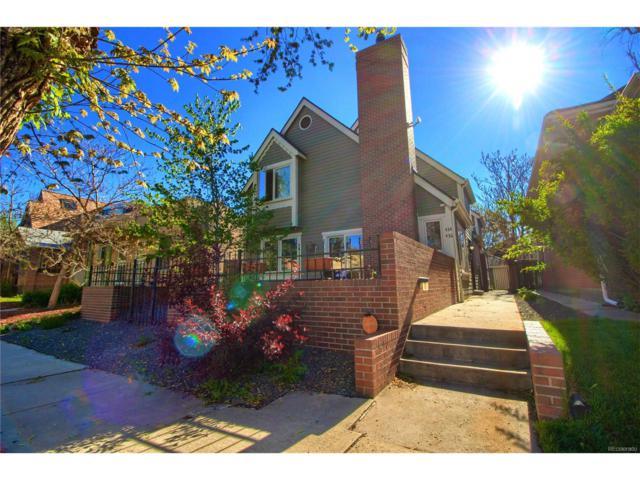 436 N Emerson Street, Denver, CO 80218 (MLS #1519509) :: 8z Real Estate