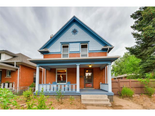 463 S Washington Street, Denver, CO 80209 (MLS #1519981) :: 8z Real Estate