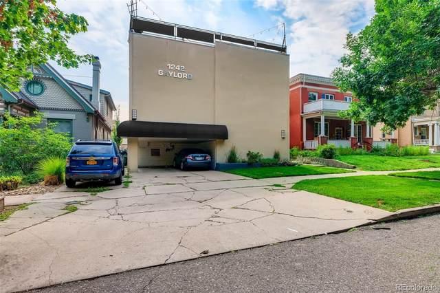 1242 Gaylord Street #103, Denver, CO 80206 (#1522815) :: Kimberly Austin Properties