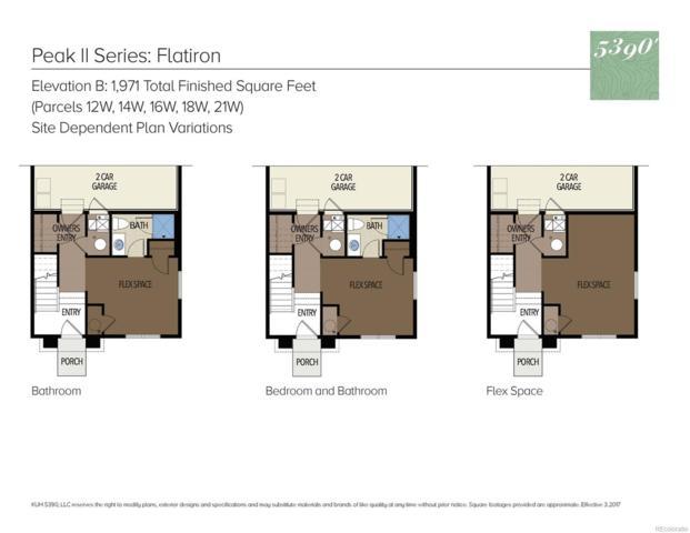 4668 W 50th Avenue 12W, Denver, CO 80212 (#1525749) :: Wisdom Real Estate