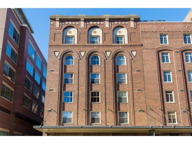 1449 Wynkoop Street #609, Denver, CO 80202 (MLS #1526865) :: 8z Real Estate