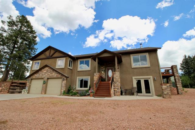1270 Loop Drive, Woodland Park, CO 80863 (#1527629) :: The Pete Cook Home Group