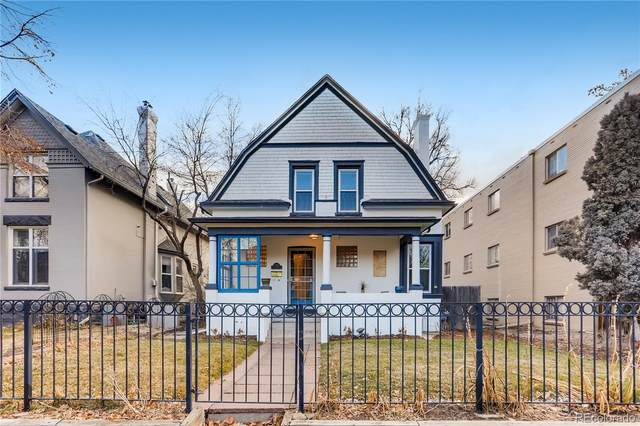 134 S Clarkson Street, Denver, CO 80209 (MLS #1528503) :: Keller Williams Realty