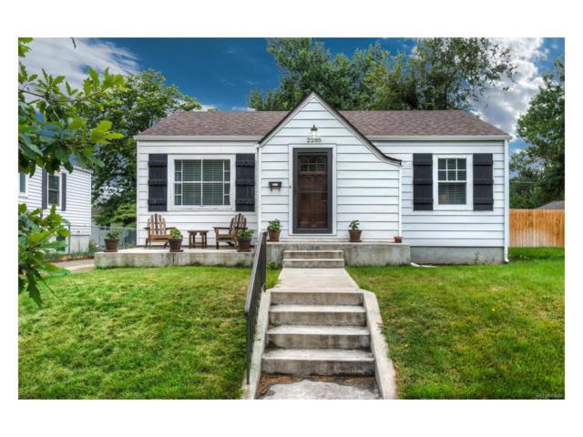 2285 S Ogden Street, Denver, CO 80210 (MLS #1529918) :: 8z Real Estate