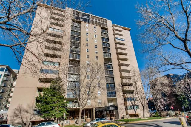2 Adams Street #306, Denver, CO 80206 (#1533688) :: Wisdom Real Estate