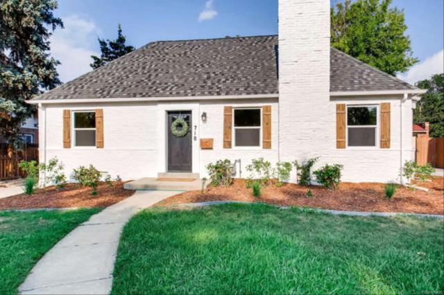 718 Grape Street, Denver, CO 80220 (MLS #1534030) :: 8z Real Estate