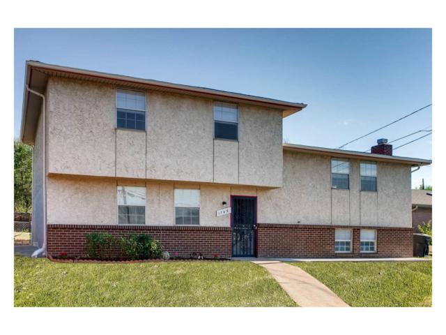 1745 W Pacific Place, Denver, CO 80223 (MLS #1537299) :: 8z Real Estate
