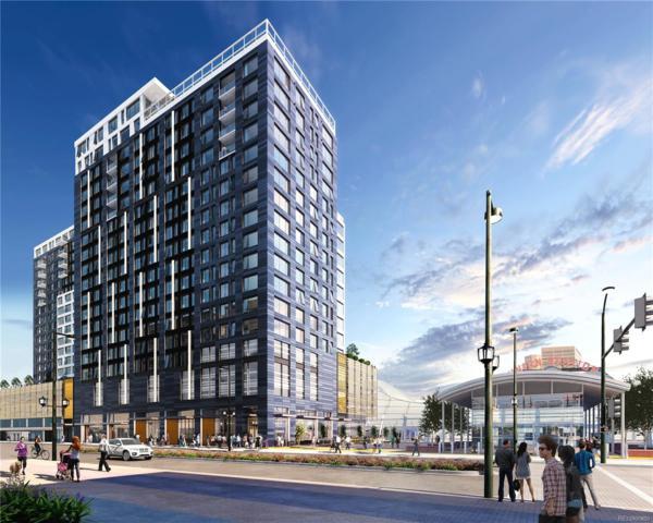 1750 Wewatta Street #1009, Denver, CO 80202 (#1543191) :: Wisdom Real Estate
