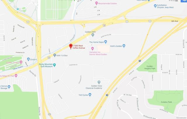 17200 W Colfax Avenue, Golden, CO 80401 (MLS #1546089) :: 8z Real Estate