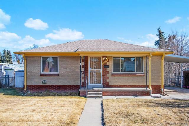 1450 S Carlan Court, Denver, CO 80219 (#1546981) :: The Griffith Home Team