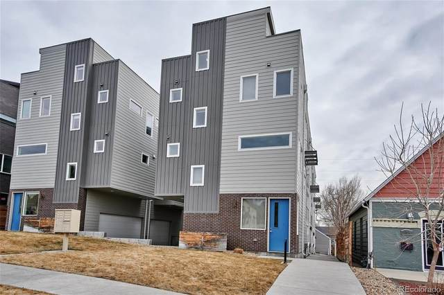 1238 Quitman Street #1, Denver, CO 80204 (#1548422) :: iHomes Colorado