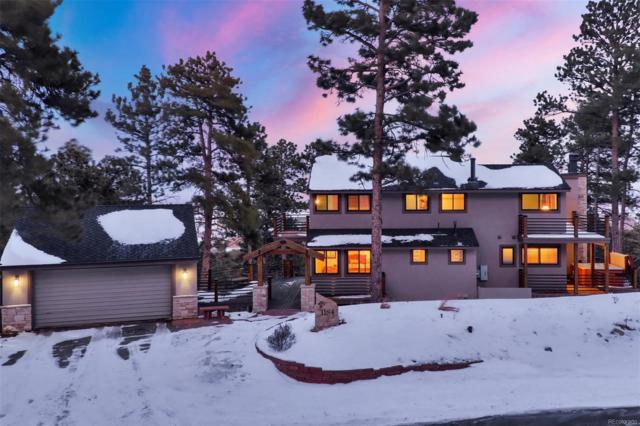 1184 Snowberry Drive, Golden, CO 80401 (#1548424) :: The City and Mountains Group