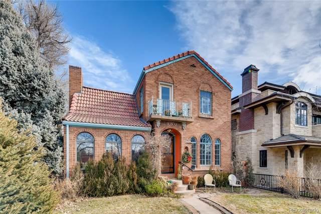 980 S Franklin Street, Denver, CO 80209 (#1549575) :: Real Estate Professionals