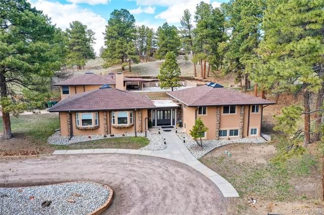 8803 Piney Creek Road, Parker, CO 80138 (MLS #1549843) :: 8z Real Estate