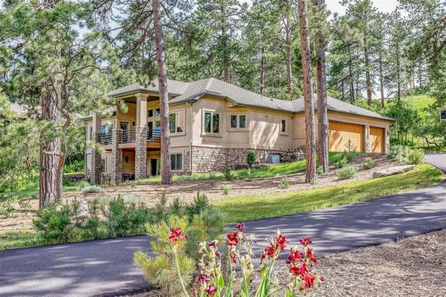 4126 Mohawk Drive, Larkspur, CO 80118 (#1549864) :: The Galo Garrido Group