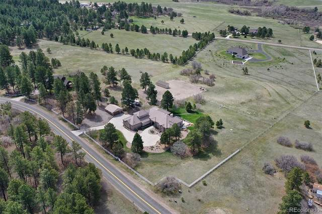 9948 Pine Valley Drive, Franktown, CO 80116 (#1554409) :: The DeGrood Team