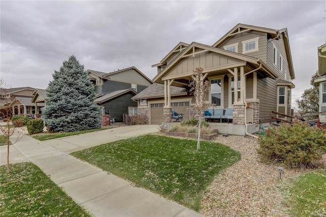 16161 E 119th Avenue, Commerce City, CO 80022 (#1554729) :: The Peak Properties Group