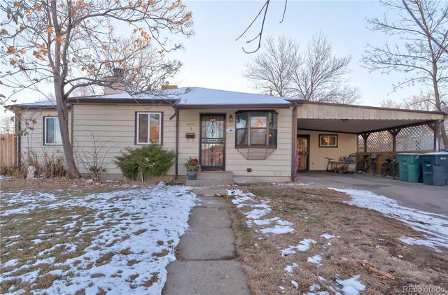 9441 Lillian Lane, Thornton, CO 80229 (MLS #1555842) :: Keller Williams Realty