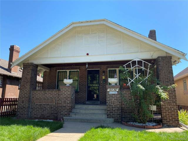3538 N Gaylord Street, Denver, CO 80205 (#1556400) :: Bring Home Denver with Keller Williams Downtown Realty LLC