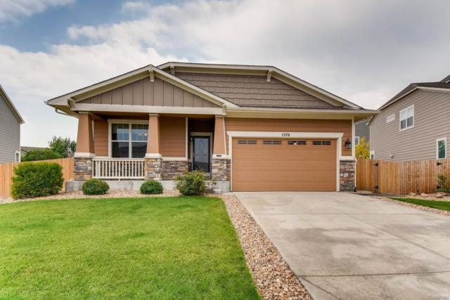1576 E 166th Place, Thornton, CO 80602 (#1557928) :: The Heyl Group at Keller Williams
