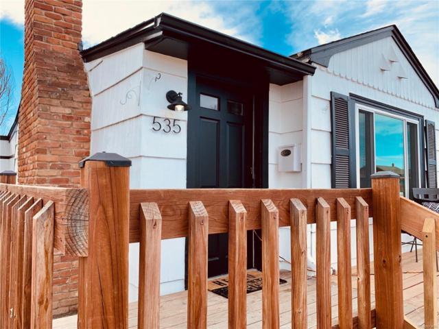 535 Tennyson Street, Denver, CO 80204 (#1558852) :: Wisdom Real Estate