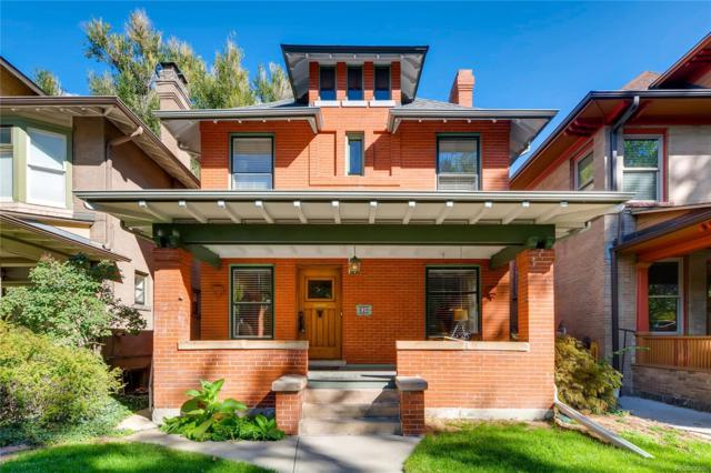820 N Lafayette Street, Denver, CO 80218 (#1559457) :: The Galo Garrido Group