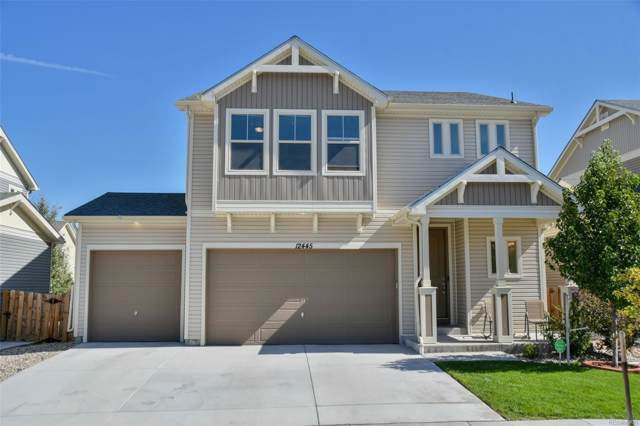12445 E 105th Way, Commerce City, CO 80022 (#1560088) :: The DeGrood Team