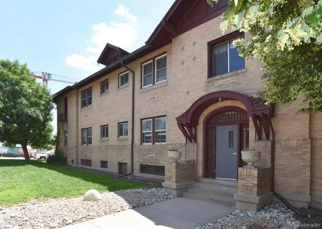 2101 S Josephine Street #105, Denver, CO 80210 (MLS #1568847) :: Bliss Realty Group