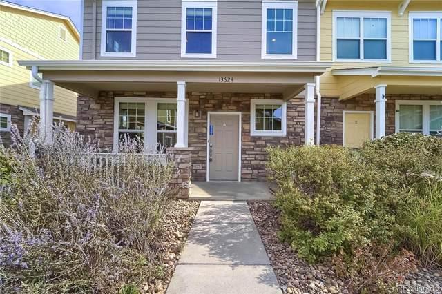 13624 Garfield Street A, Thornton, CO 80602 (#1570062) :: Peak Properties Group