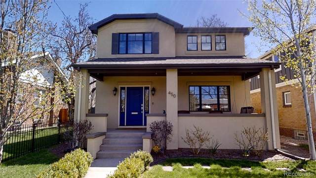 450 S Clarkson Street, Denver, CO 80209 (#1570525) :: The DeGrood Team