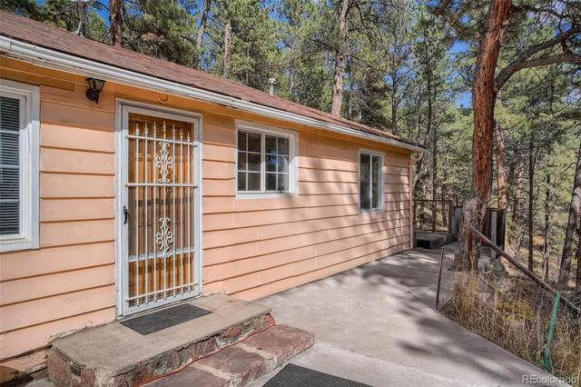 4050 S Skyline Drive, Evergreen, CO 80439 (#1571972) :: You 1st Realty
