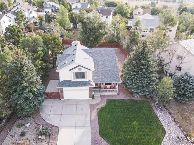 291 Candletree Circle, Monument, CO 80132 (#1573729) :: iHomes Colorado