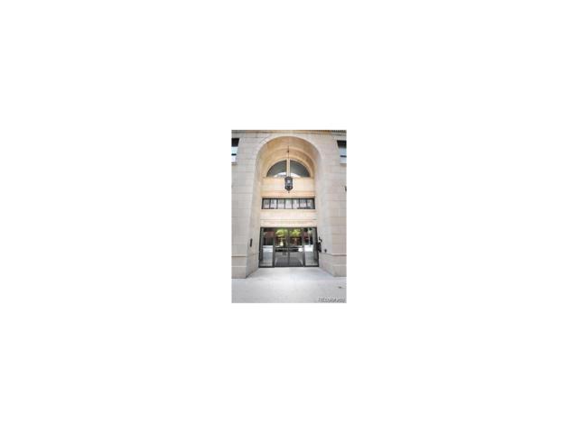 444 17th Street #705, Denver, CO 80202 (#1573813) :: The Peak Properties Group