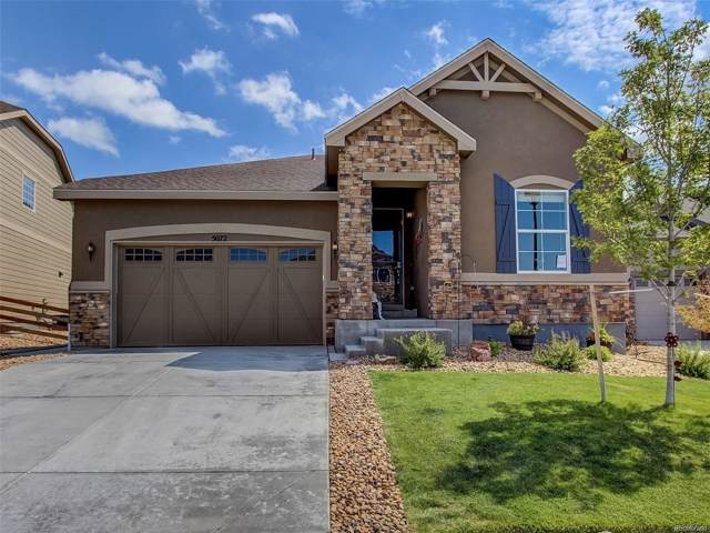 5072 S Valdai Way, Aurora, CO 80015 (#1573906) :: James Crocker Team