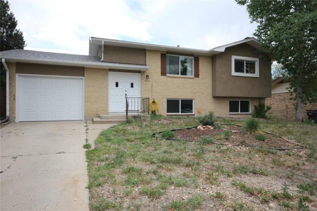 617 Rowe Lane, Colorado Springs, CO 80911 (#1574140) :: Colorado Home Realty