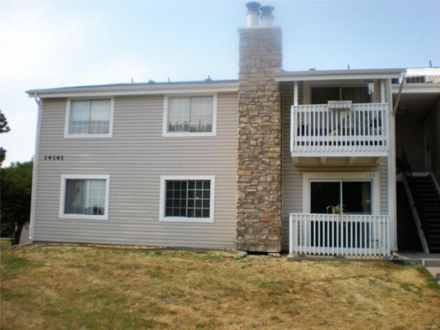 14141 E Jewell Avenue #103, Aurora, CO 80012 (MLS #1580595) :: 8z Real Estate
