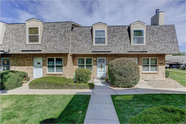 1474 S Pierson Street #71, Lakewood, CO 80232 (#1588787) :: The Healey Group