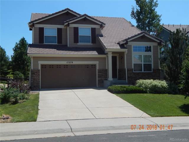 17278 E Lake Place, Aurora, CO 80016 (#1590778) :: The Brokerage Group
