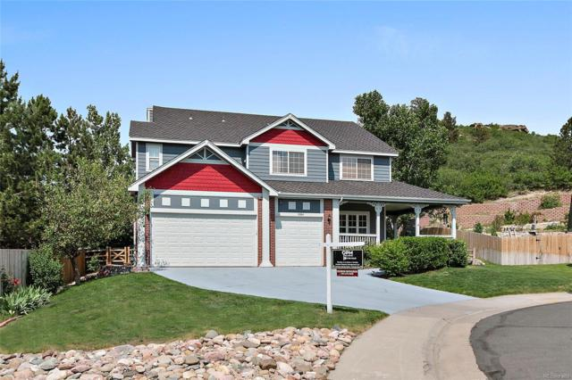 1394 Whitetail Drive, Castle Rock, CO 80104 (#1591912) :: The Griffith Home Team
